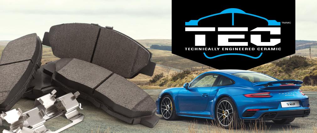 plaquettes de frein TEC / brake pads