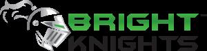 Logo Bright Knights blog - ampoules et barres  à DEL
